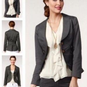 Cabi Detailed Single Breasted Jacket Blazer